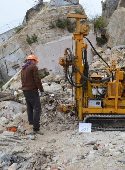 P05 – Ginosa: Indagini e monitoraggio strutturale e geomorfologico Crollo di Via Matrice