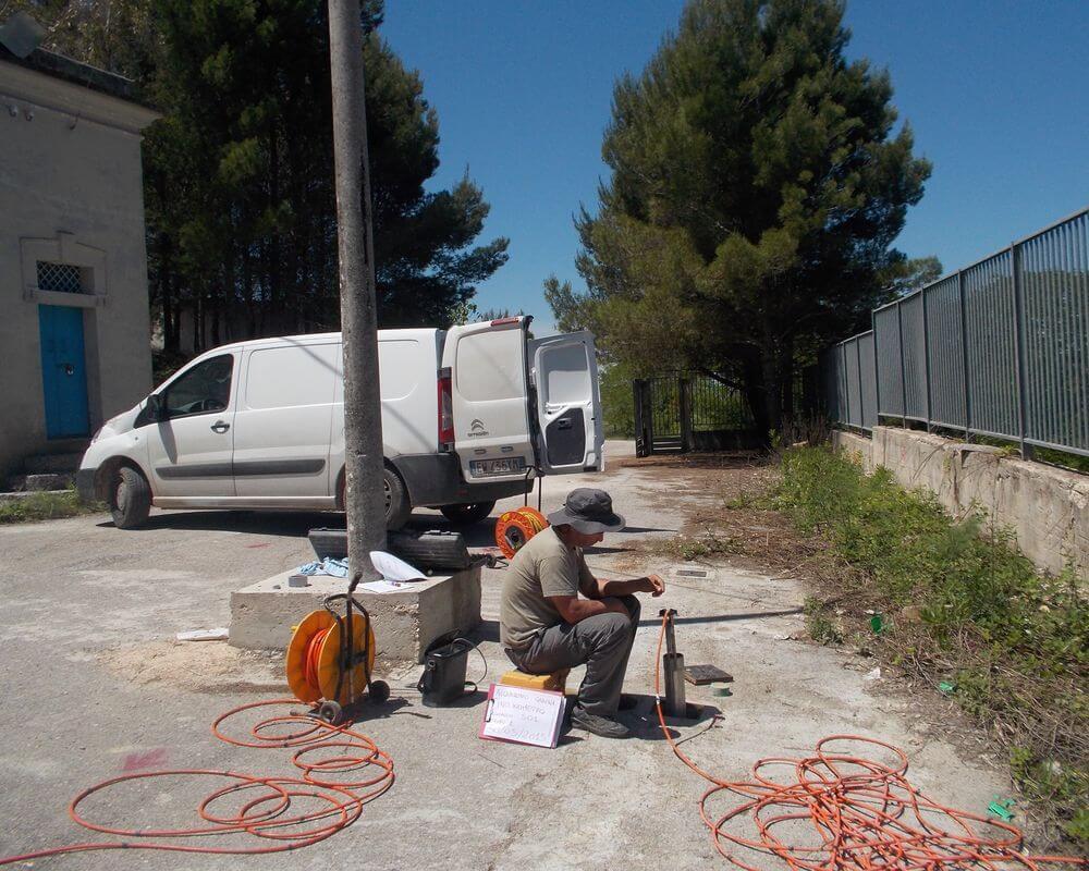 P06 – Gravina in Puglia: Indagini geologiche Vecchio Serbatoio a servizio dell'abitato